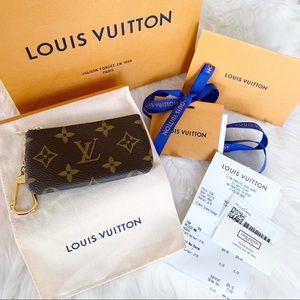 Authentic Louis Vuitton Cles/Key Pouch
